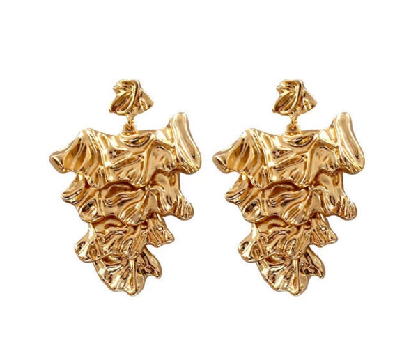 Amara Earrings - Gold