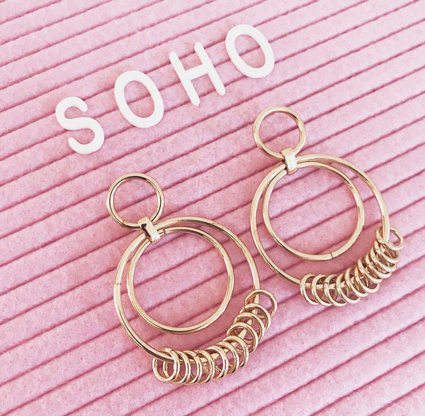 Soho Hoops - Gold