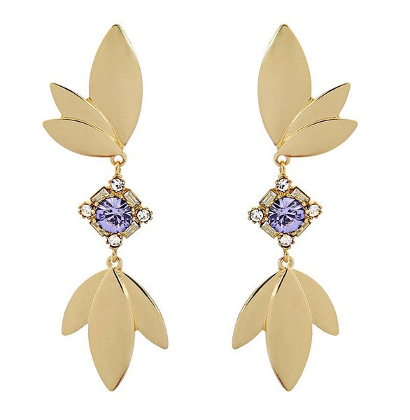 Lily Earrings - Lilac