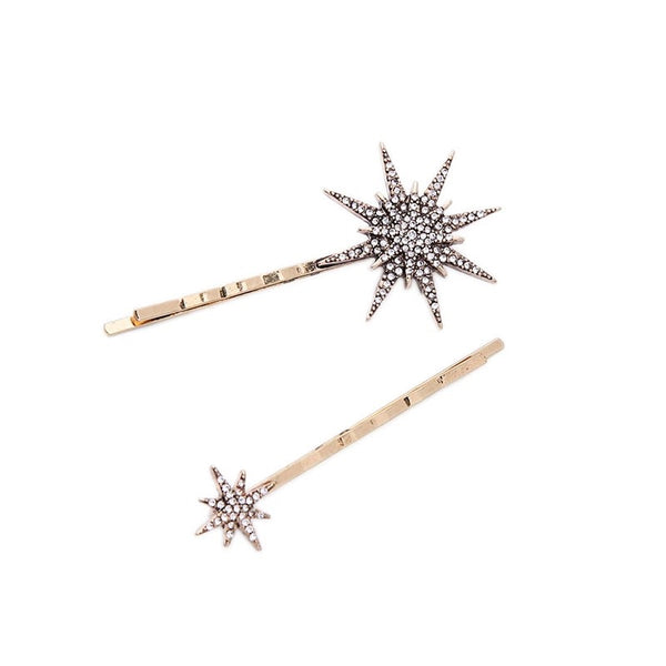 Stellar Hair Pin - Dark Gold