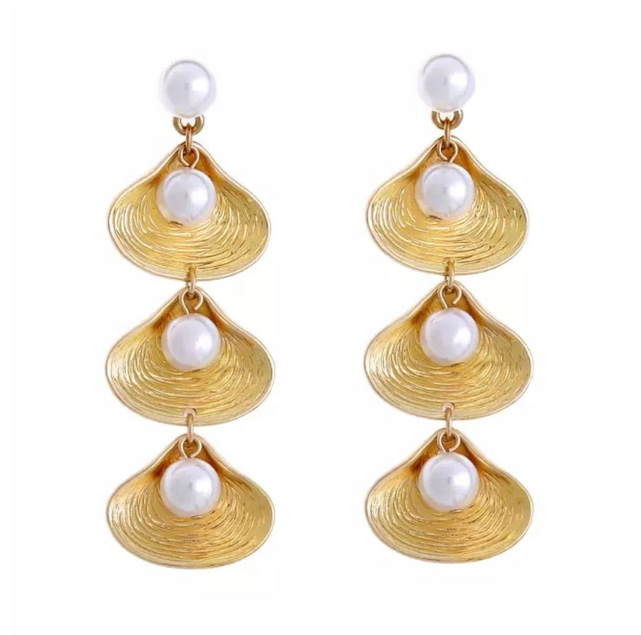 Bisous Earrings - Gold
