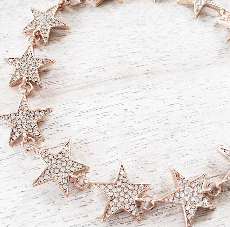 A Star Is Born Choker - Gold