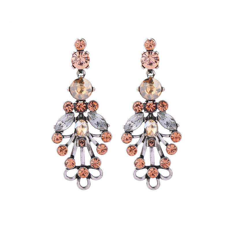 Kiara Earrings - Rose