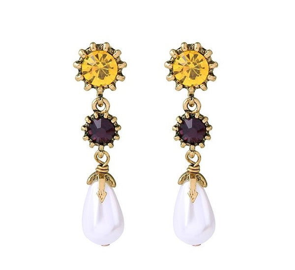 L'emporte Earrings - Gold