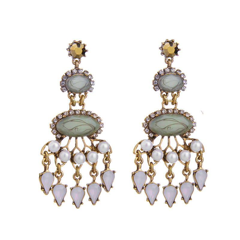 Margarita Earrings - Green