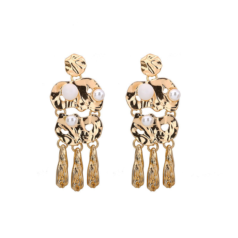 Melted Earrings - Gold