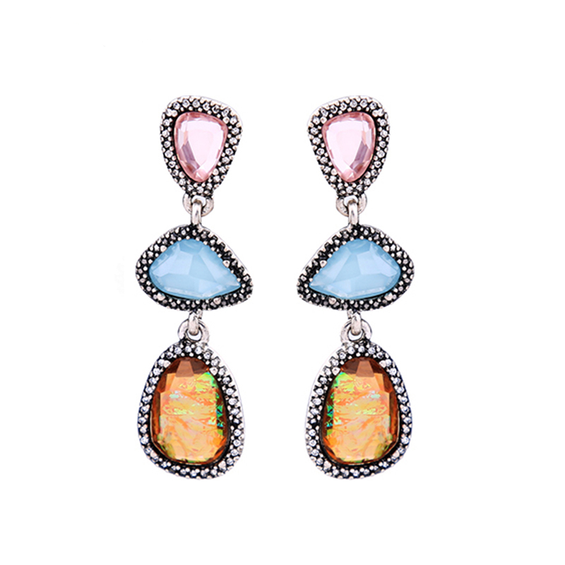 Mia Earrings - Multi
