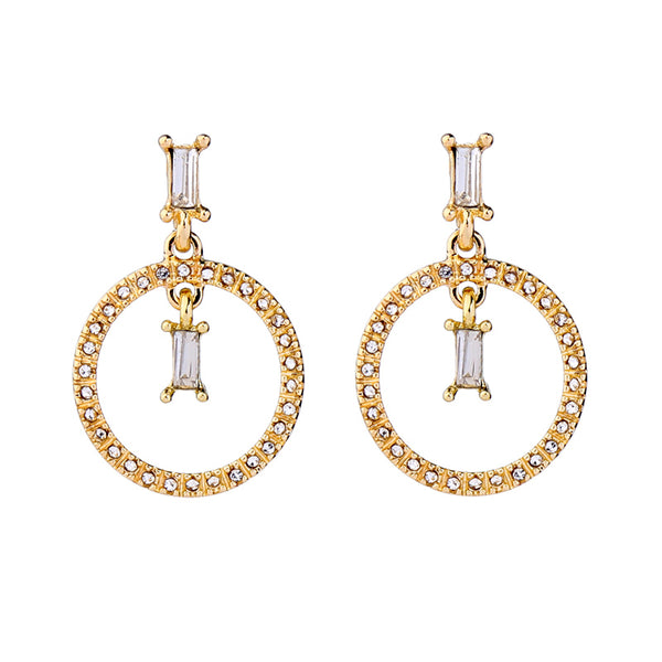 Darling Mini Hoops - Gold