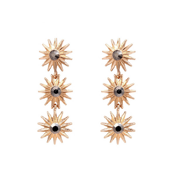 Nicola Earrings - Gold