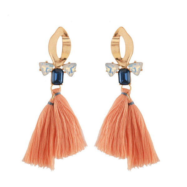 Nolita Earrings - Orange