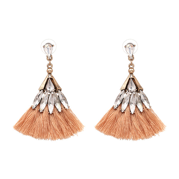 Chic Earrings - Peach
