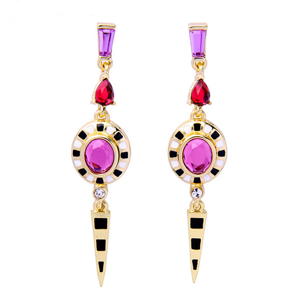 Valerie Earrings - Pink