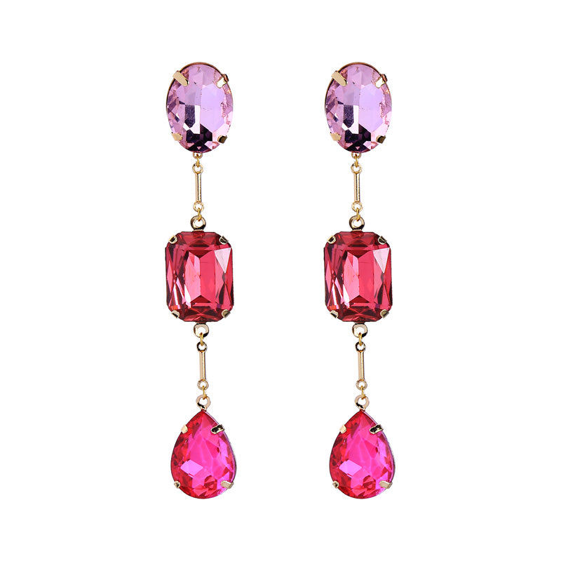 Panther Earrings - Pink