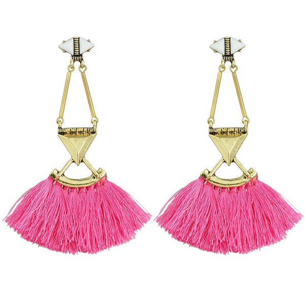Bright Eyed Earrings - Pink