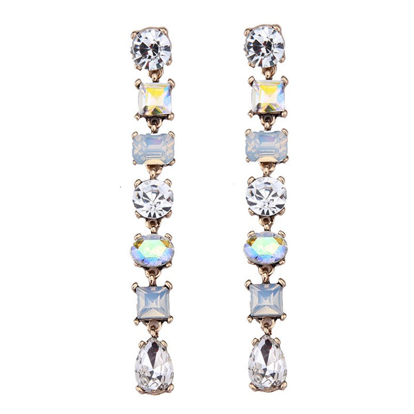 Portia Earrings - Clear