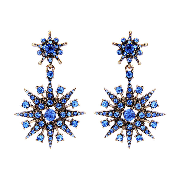 Stardom Earrings - Blue
