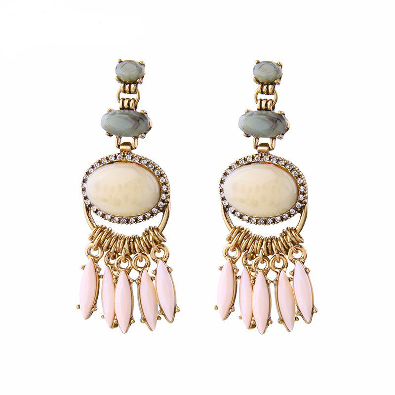 Sundae Earrings - Nude