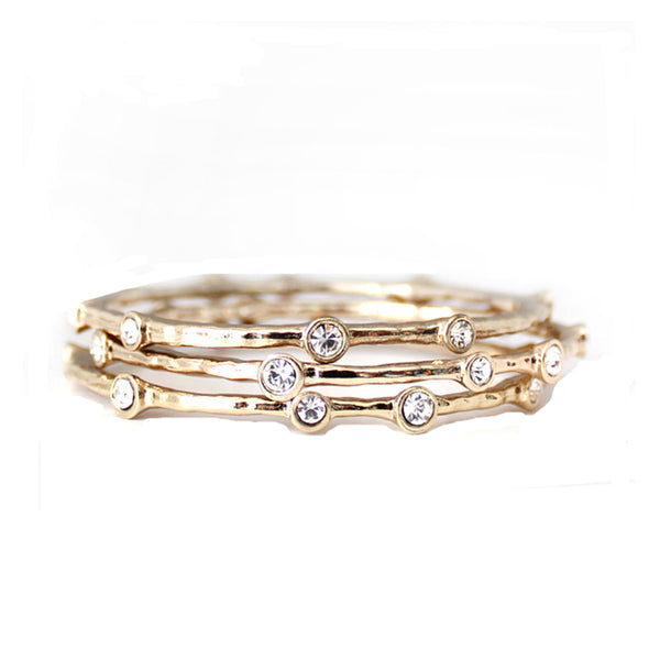 Trio of Bangles - Gold
