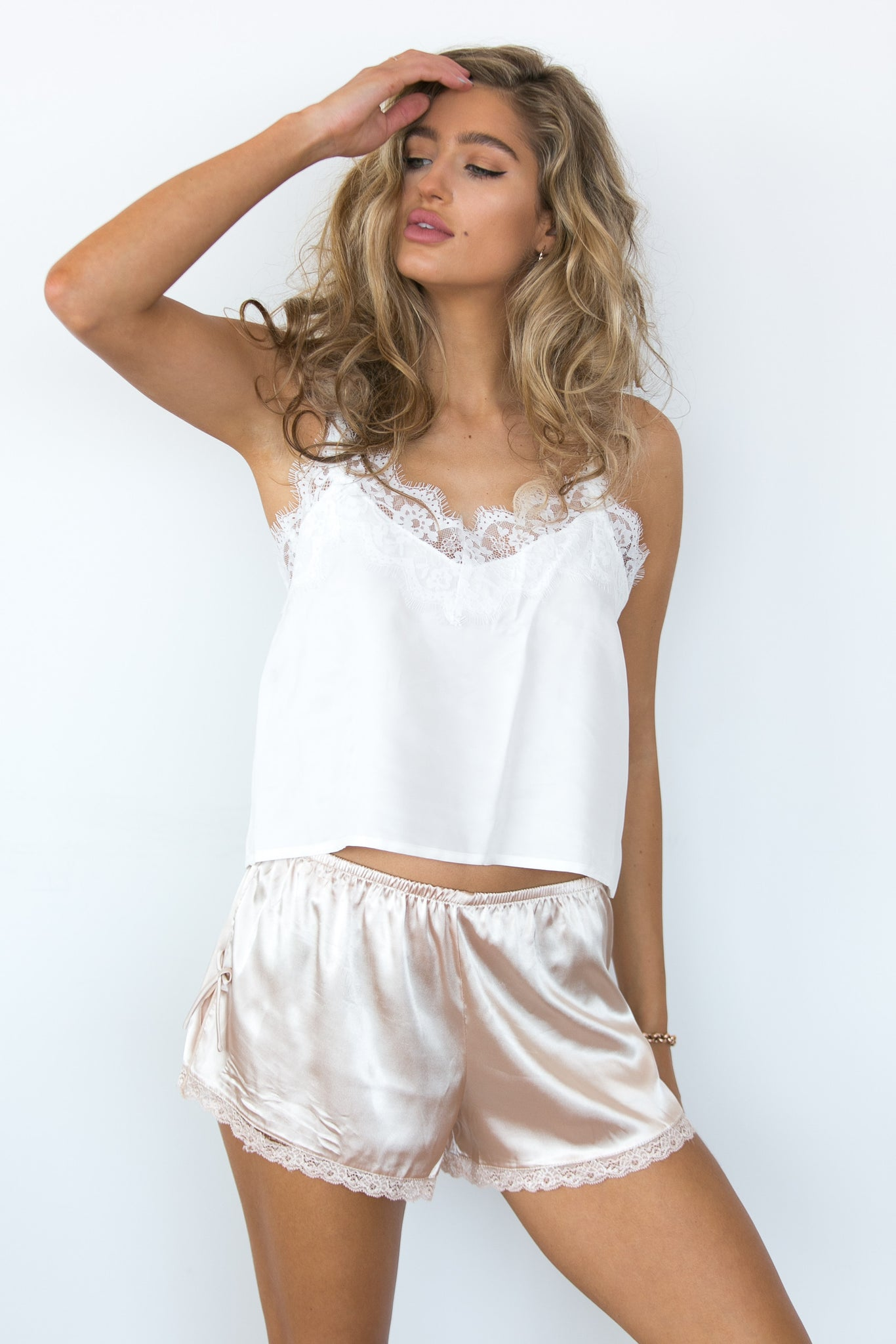 Your Eyes Only Lace Cami - Ivory