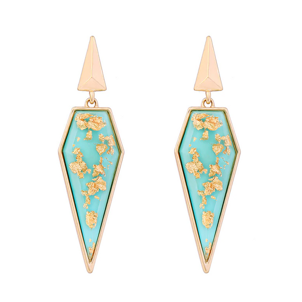 Jetset Earrings - Turquoise