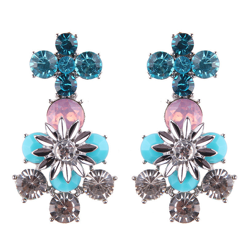 Your Girl Earrings - Blue