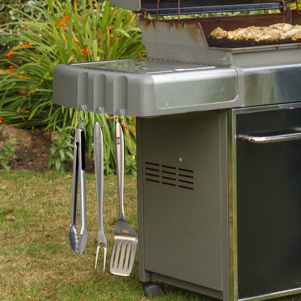 Heavy-Duty BBQ Tool Set