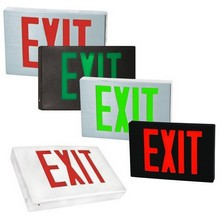 Cast Aluminum LED Exit Sign