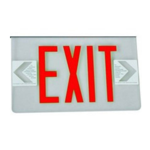 2 Sided Legend Panel for Edge Lit LED Exit Signs