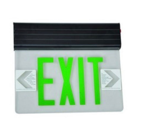 Surface Mount Edge Lit LED Exit Signs