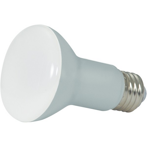 6.5 Watt (50 Watt Equivalent) Frosted LED Flood Lamp Reflector Light Bulb - 120V (R20)