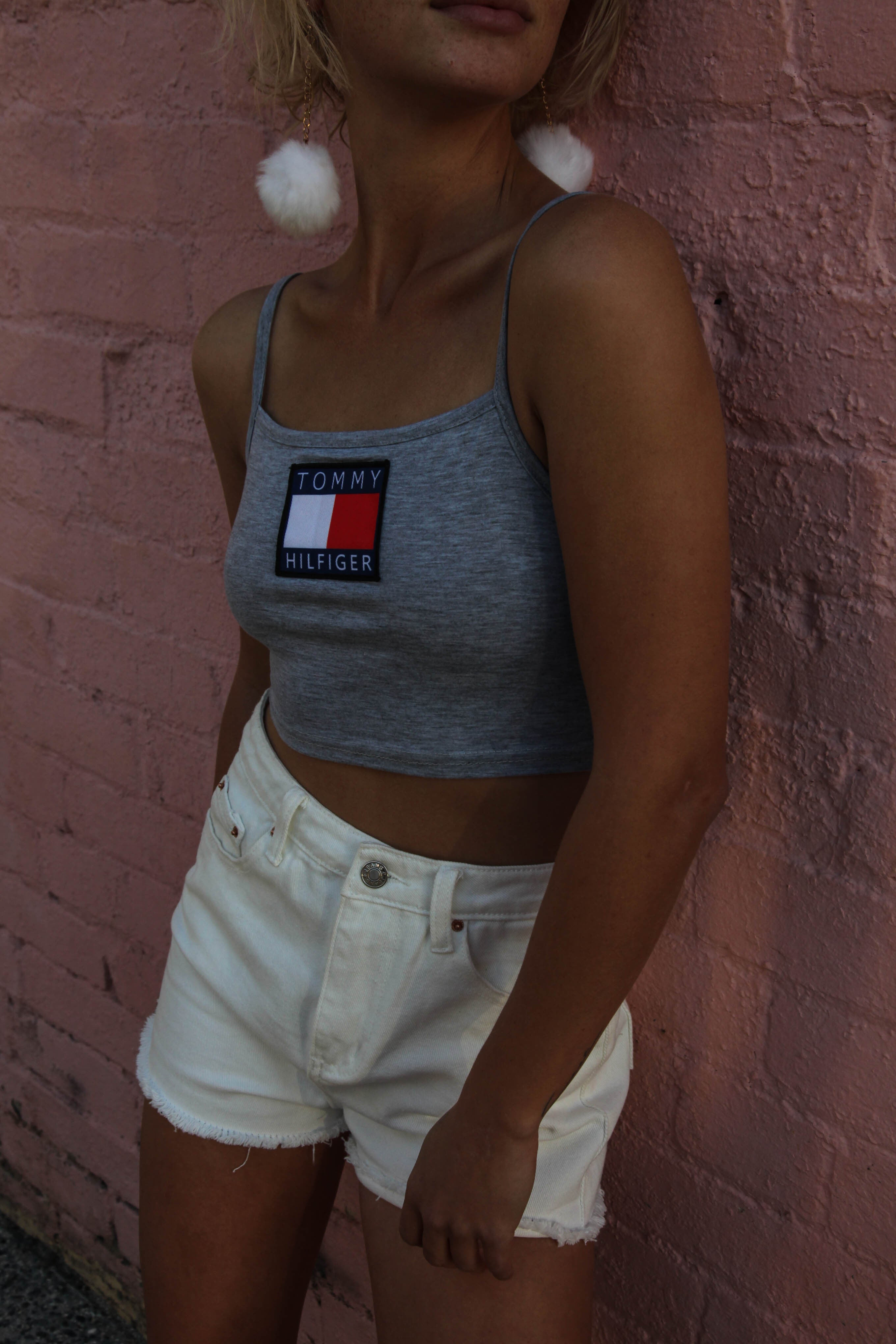 ARRIVED!!! | RE - WORKED VINTAGE TOMMY TANK - GREY