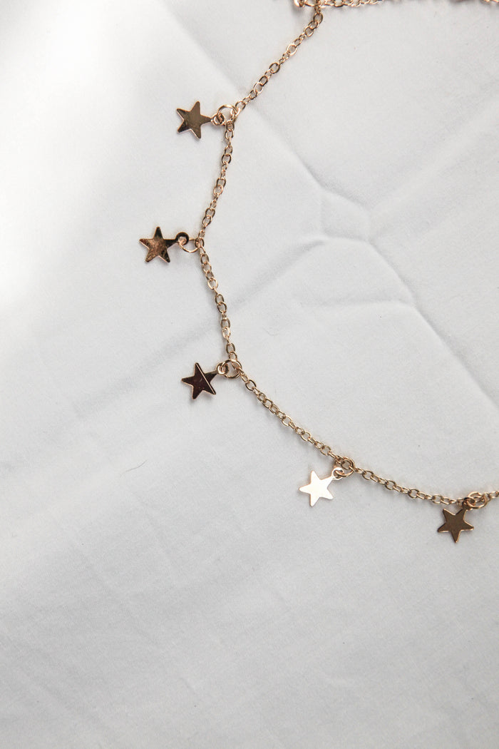 STARLIGHT CHOKER - GOLD