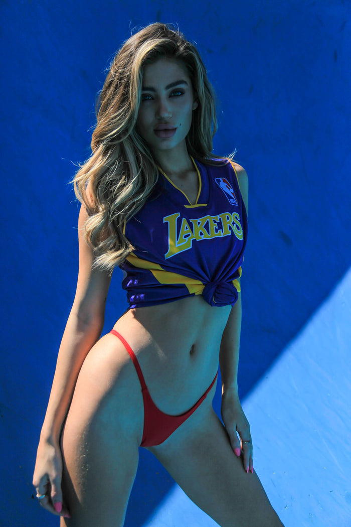 VINTAGE BASKETBALL JERSEY - LAKERS