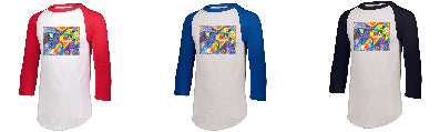 ADULT Raglan Baseball Shirts