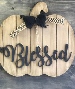 Wooden Word Cut-Out