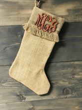 Bright Stripe Stocking with Personalization