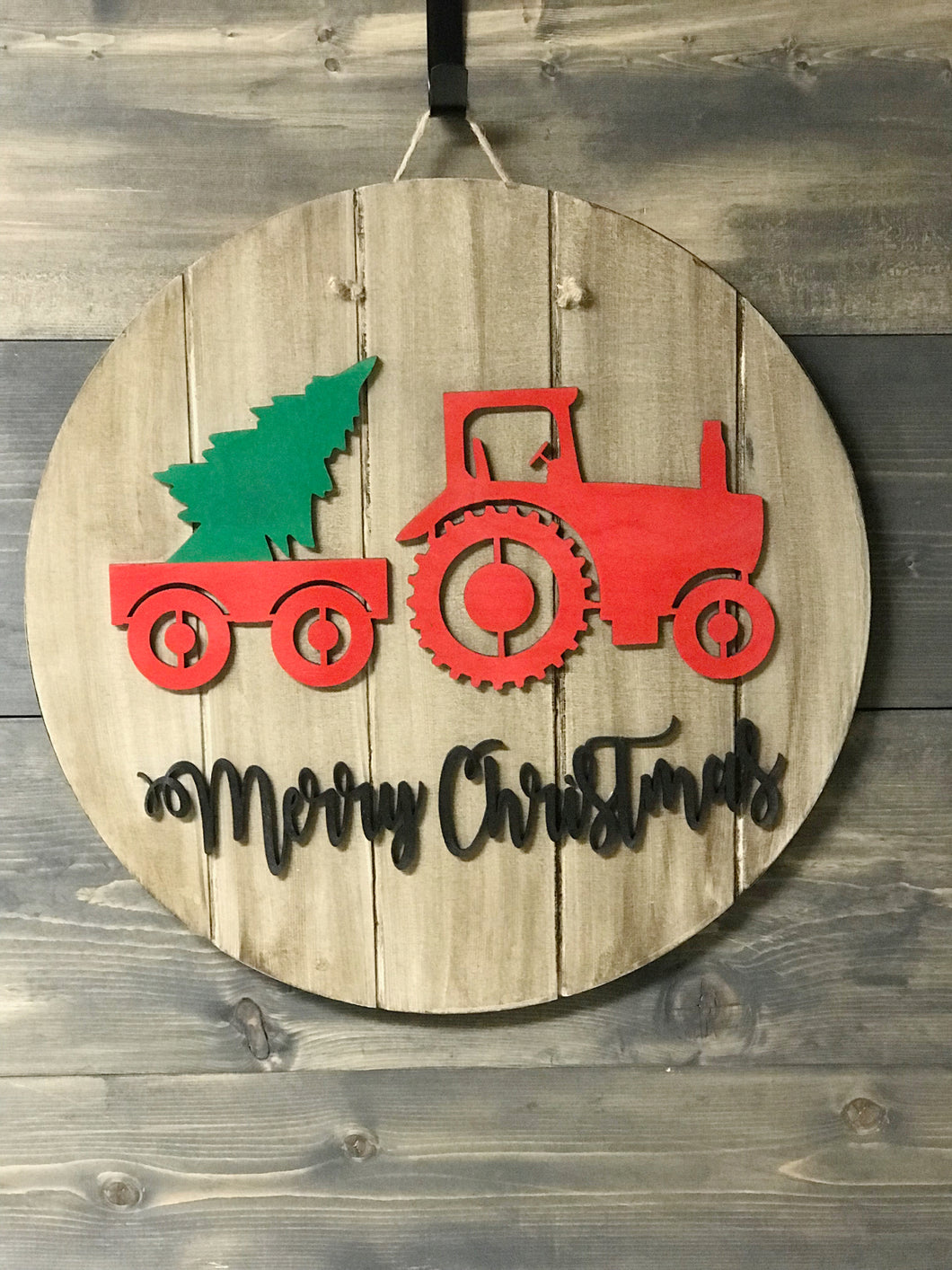 Merry Christmas Wooden Sign Cut-out 15