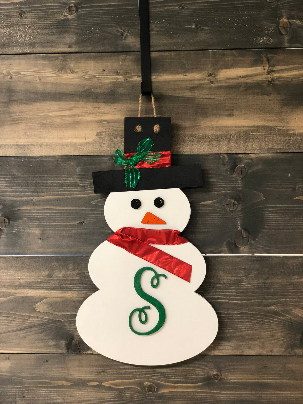 Snowman Wooden Cut-out 24
