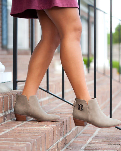 Taupe Hudson Short Boots
