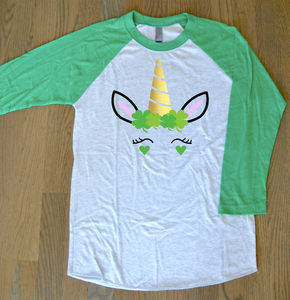 St Patrick's Day Shirt: Unicorn