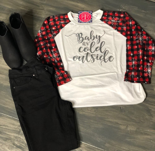 Baby It's Cold Outside - Holiday Shirt