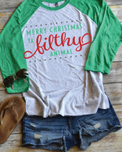 Merry Christmas Ya Filthy Animal - Holiday Shirt
