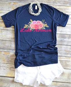Lake Norman Floral - short sleeve