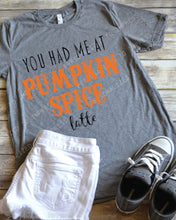 Pumpkin Spice Latte Fall Shirt
