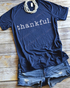 thankful - Fall Shirt
