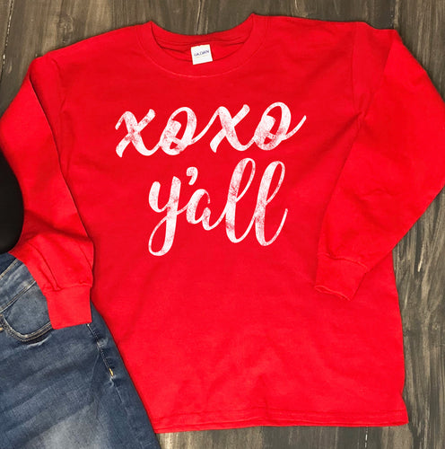 Valentine's Day Shirt: XOXO Y'all