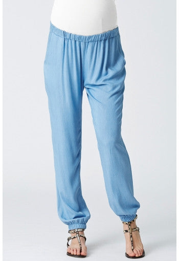 MATERNITY Phoebe Chambray Pants