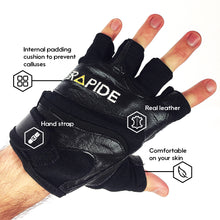 Weightlifting Gloves (real leather)