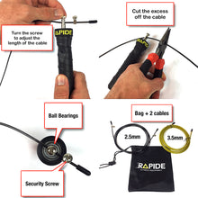 Jump Rope (super fast ball bearings)