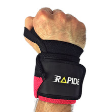 Black/Yellow Wrist Wraps (heavy-duty)